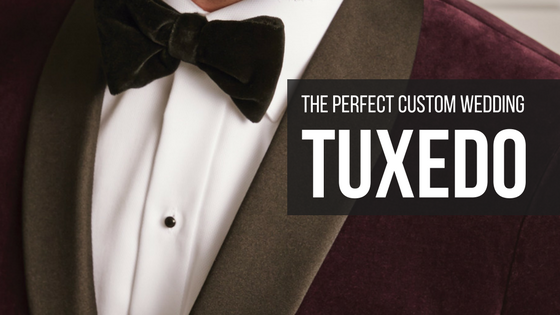 The Perfect Custom wedding tuxedo by ls mens clothing